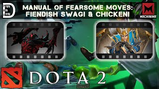 DOTA 2 | Manual of Fearsome Moves: Taunt Fiendish Swag! & Taunt Chicken!