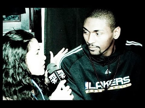 RON ARTEST rare Interview and rap performance at Crazy Horse 3-20-10