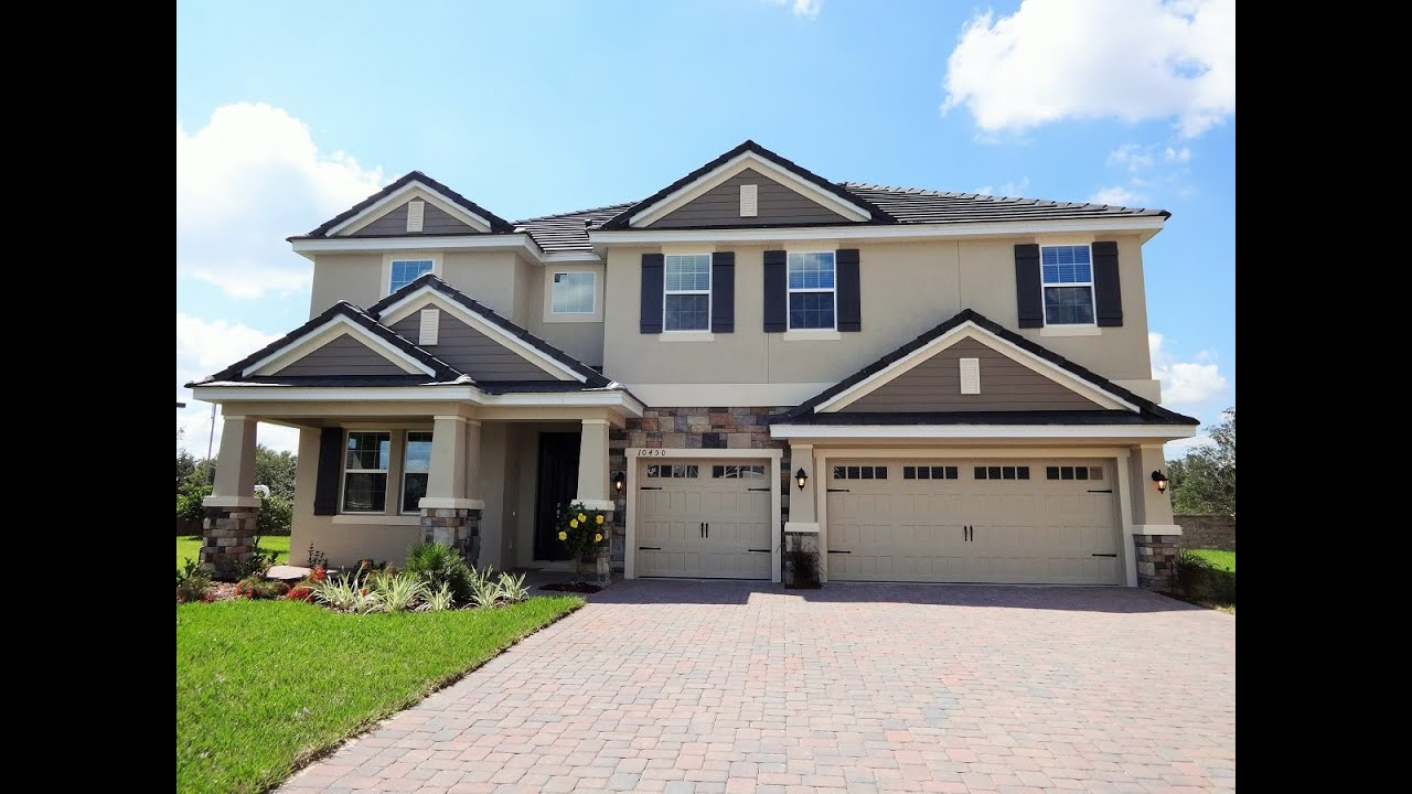 Luxury new orlando inventory home for sale youtube for New modern homes orlando