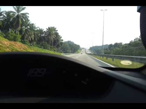 Galaxy s2 video test morning highway on Malaysia (MEX Putrajaya)