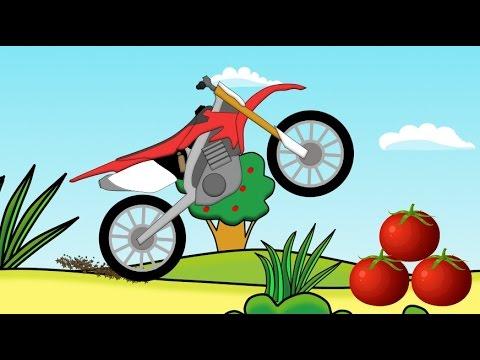 MotoCroos fruits - Monster Cross (Wielki motor) Matocykl Dla Dzieci
