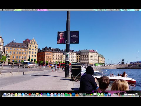 Samsung Galaxy S5 4K VIDEO AMAZING QUALITY STOCKHOLM SWEDEN, PERFECT!!