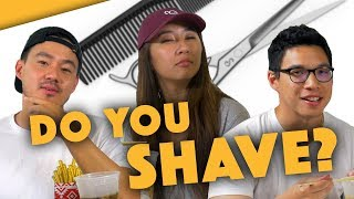 WHAT GIRLS WANNA KNOW ABOUT MALE GROOMING - Lunch Break!