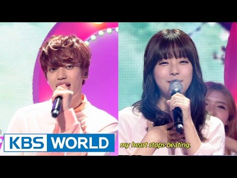 NIEL - Spring Love (Feat.JUNIEL) | 니엘 - 심쿵 (Feat.주니엘) [Music Bank HOT Stage / 2015.04.17]