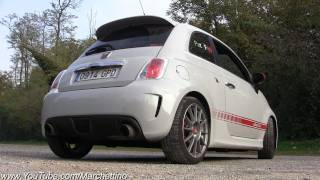 Abarth 500 Assetto Corse Exhaust LOUD Sound!