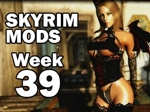 Skyrim Mods - Week #39: School of Witchcraft and Wizardry, Succubus Race, Hammerfell