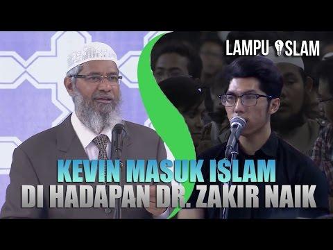 Kevin MASUK ISLAM di ACARA Dr. Zakir Naik