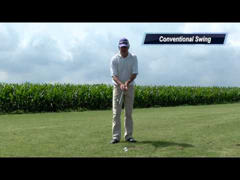 Single plane golf vs. Conv. Golf comparison - Online golf instruction - golf video