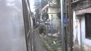Mumbai Local Train Entering Churchgate Railway Station!!!