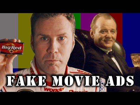 Fake Ads in Movies Supercut