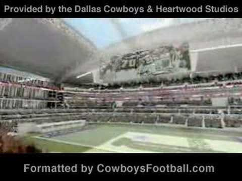 New Dallas Cowboys Stadium (updated, with music) Video