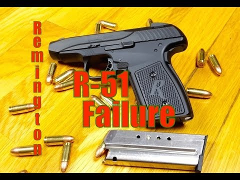 Remington R51 Failure