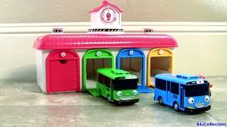 Tayo the Little Bus Garage Disney Pixar Cars Batman Superman - 타요 꼬마버스 타요 중앙차고지 디즈니카 (영화) - тайо