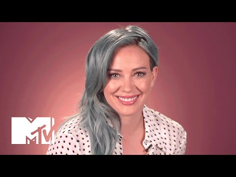 Hilary Duff Spills the Deets on Her Colorful New Hair | MTV News