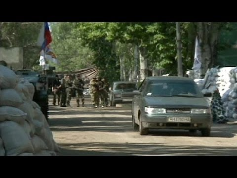 Dead and wounded in Ukraine after heavy clashes in Slovyansk