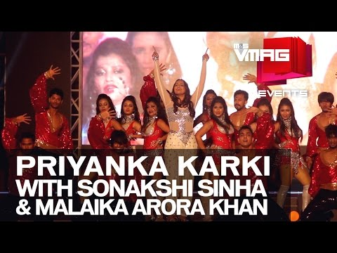 M&S VMAG | Priyanka Karki at Amarpanchi with Sonakshi Sinha and Malaika Arora Khan | EVENTS
