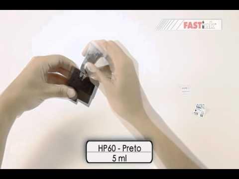 HP 60 - preto