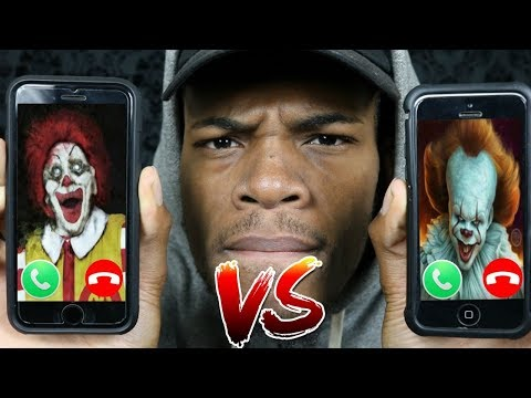 CALLING RONALD MCDONALD AND PENNYWISE *THEY HAD A BIG FIGHT OMG!!!!* (ROAST BATTLE )