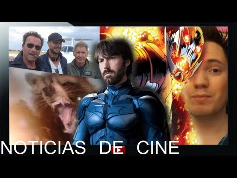 Ben Affleck es Batman / Trailer Guardianes de la Galaxia / Mercenarios 3 / James Spader Ultron