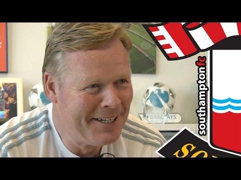 Koeman reflects on an amazing season for Southampton
