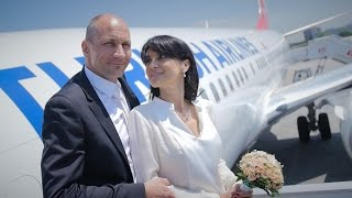 Turkish Airlines: Wedding Above The Clouds