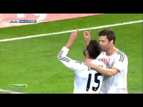 Gol de Dani Carvajal al Osasuna // Real Madrid 4 - 0 Osasuna 26/04/2014