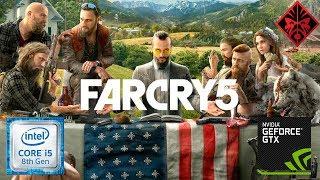 Far Cry 5 1080p ( I5 8300H GTX 1050 ) - HP OMEN
