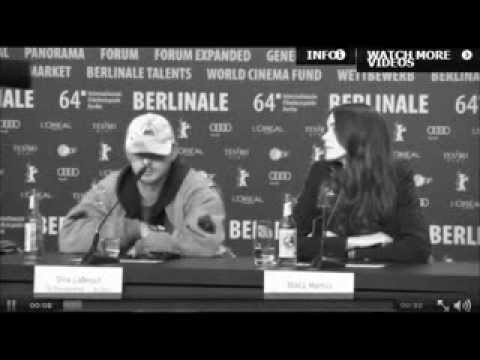 Shia LaBeouf Gets Up & Leaves Nymphomaniac Press Conference | Berlin Film Festival 2014