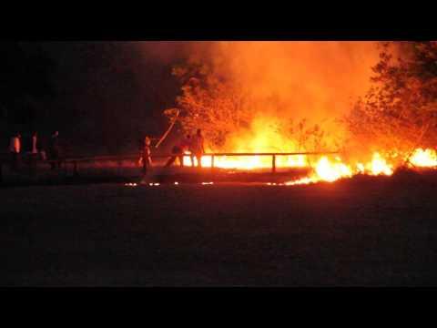 Fire guts Great Zimbabwe Chalets