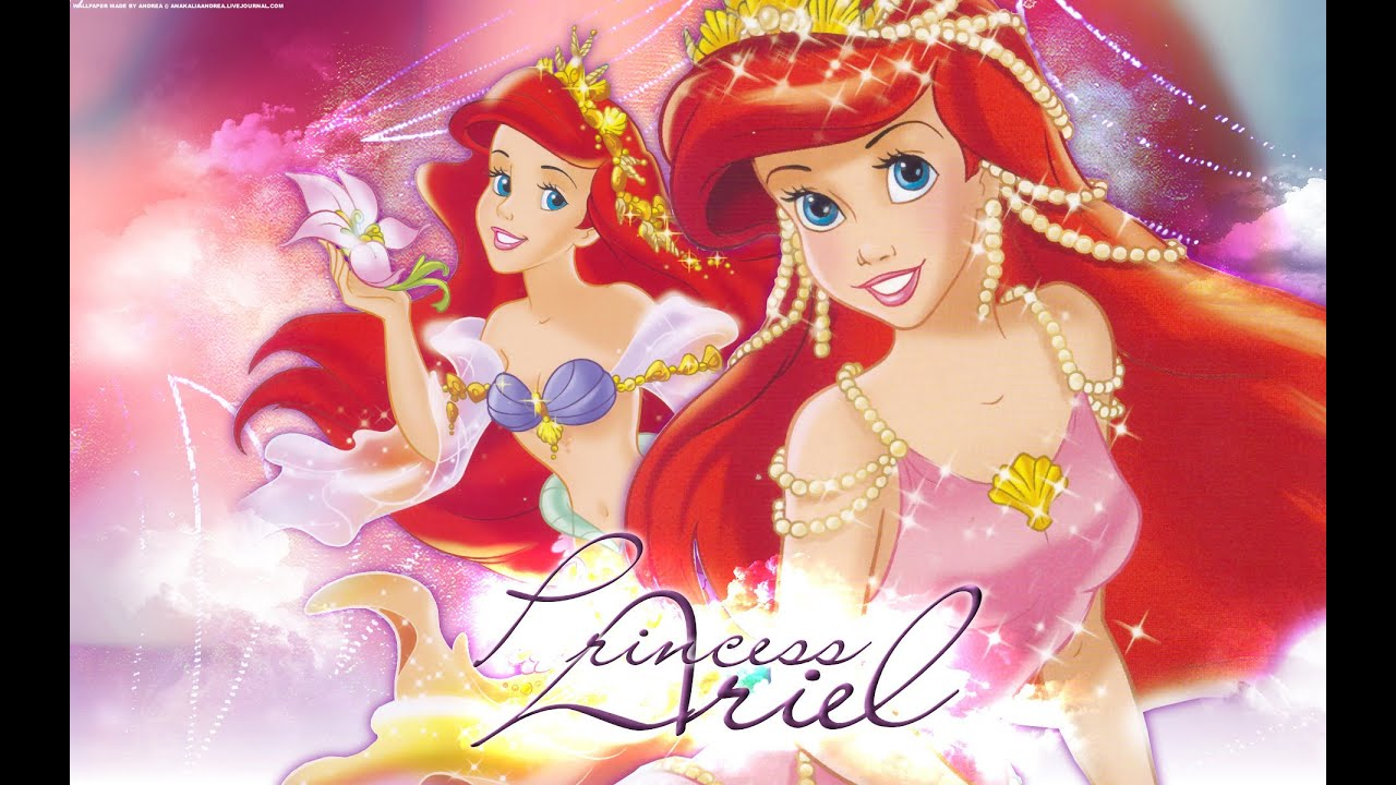 Disney princesas la sirenita ariel youtube - Dessin anime princesse ariel ...