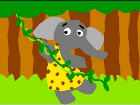 The Elephant Song - Cool Tunes for Kids by Eric Herman Video