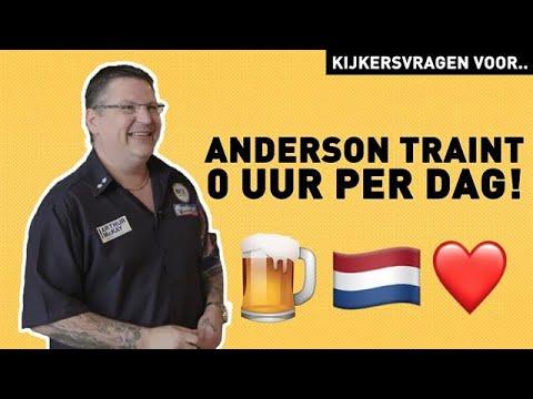 WOW! Op deze leeftijd begon Anderson met darten! | - RTL 7 DARTS INSIDE