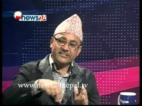 REAL FACE WITH PREM BANIYA, GUEST : PURUSHWOTAM POUDEL( MINISTER OF YOUTH AND SPORTS)