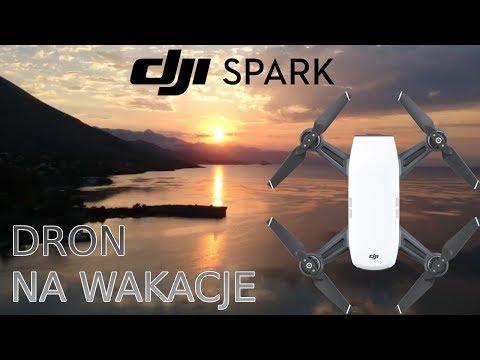 DJI Spark - Test, Recenzja - Świetny Dron Na Wakacje! + Moja Podróż