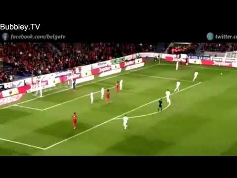 Adnan Januzaj Individual Highlights   International Debut   Belgium vs Luxembourg 5 1   HD   5
