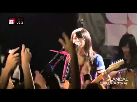 Scandal  Sakura Goodbye Live video