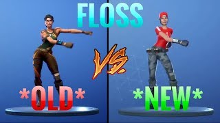 *FLOSS* New vs Old (Floss vs No Sweat)