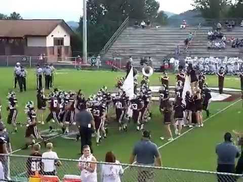 Swain County High School Maroon Devils Football Team 9-5-14