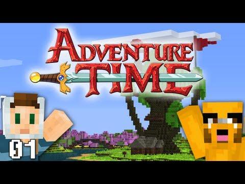 Adventure Time Minecraft : Tree Fort W Swimmingbird941 Pt. 01