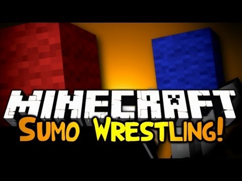 Minecraft: Mini Game: Sumo Wrestling!