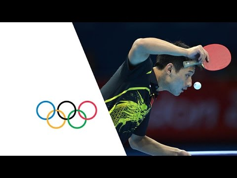 Table Tennis Men's Singles Gold Medal Match - China v China Replay - London 2012 Olympic Games