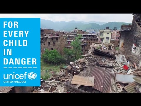 Nepal earthquake - amazing drone footage after earthquake