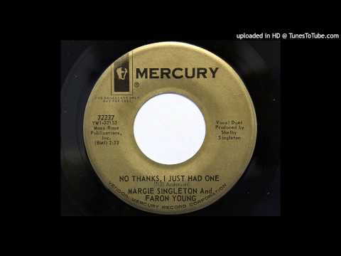 Bill Anderson - No Thanks I Just Had One