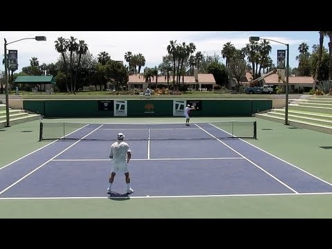 Tennis Singles Strategy - Defending Against The Chip & Charge Return of Serve