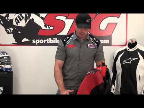 Alpinestars Atem Leather Race Suit Video Review from SportbikeTrackGear.com