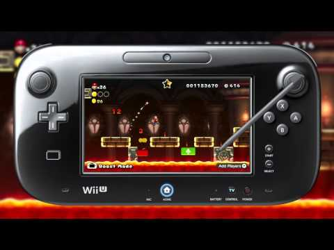 New Super Mario Bros. U - trailer (Wii U)