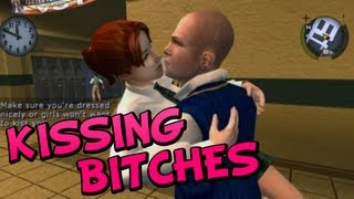KISSING GIRLS! (+ Boys) On Bully: Scholarship Edition !!?!