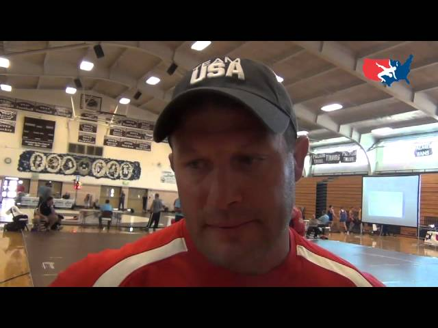 Rutgers coach Scott Goodale at 2012 University World Team Trials