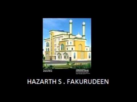 Tamil Bayan.- Kadal....kadal Love ...love..by Hazarth S Fakurudeen Baqavi video
