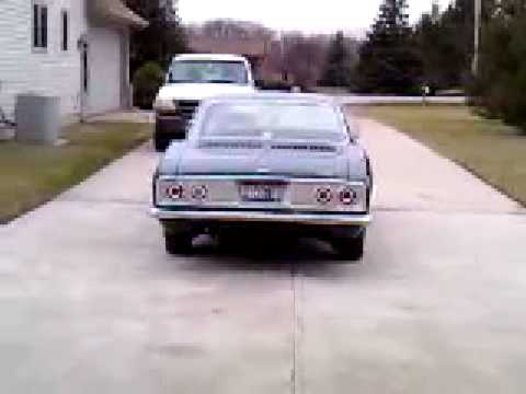 My 1965 corvair corsa at idle Video